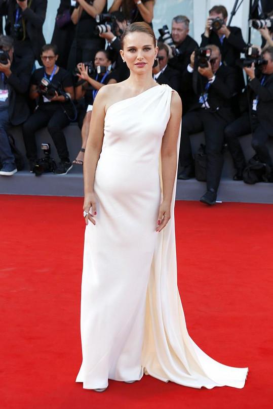 Natalie Portman v Benátkách