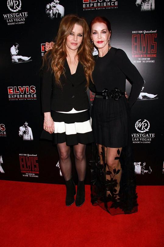Dcera a exmanželka Elvise Presleyho v Las Vegas