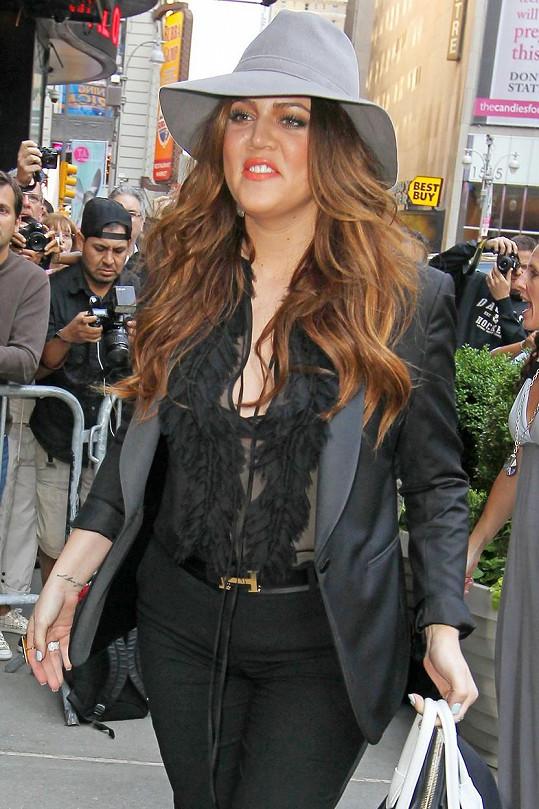 Khloé na snímku z června 2011