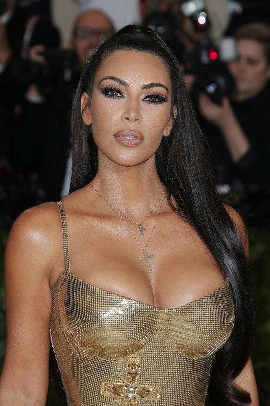 Kim Kardashian šla jednoduše za Kim Kardashian.