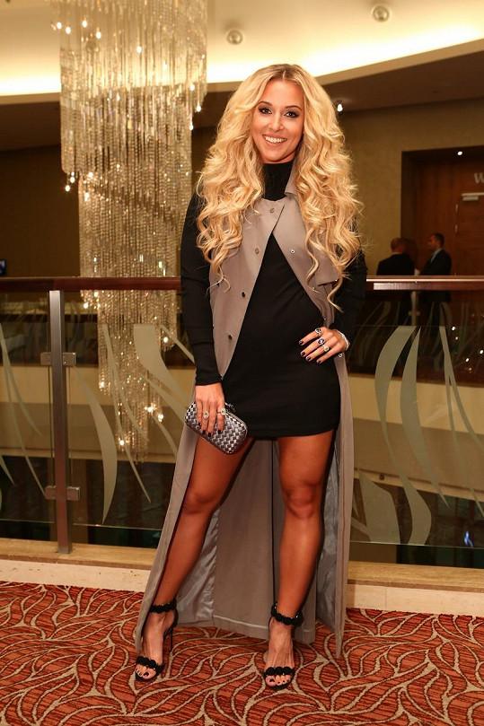 Dominika Cibulková zářila na bratislavských módních dnech.