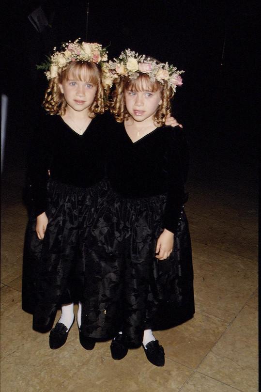Mary-Kate s Ashley byly dětskými filmovými hvězdami.