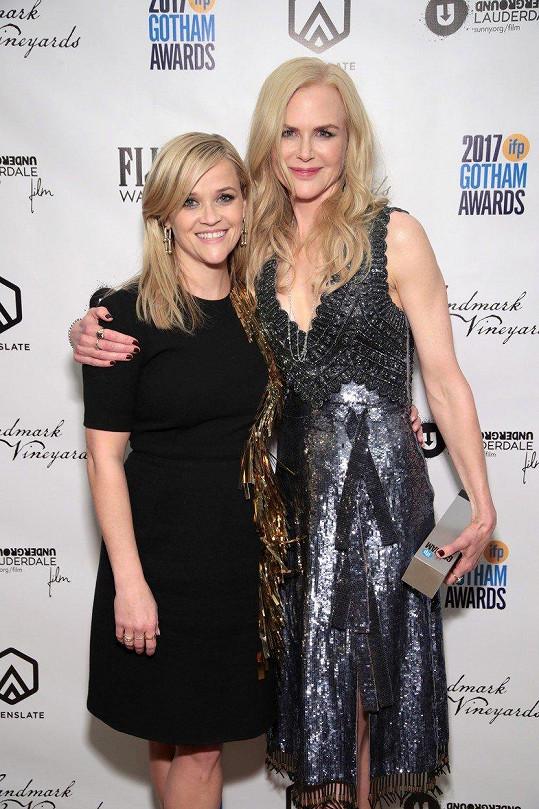 Reese Witherspoon a Nicole Kidman na předávání Gotham Independent Film Awards