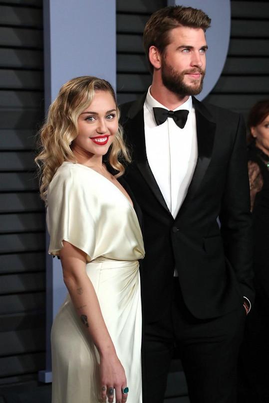 Stejně jako manželství s Liamem Hemsworthem.