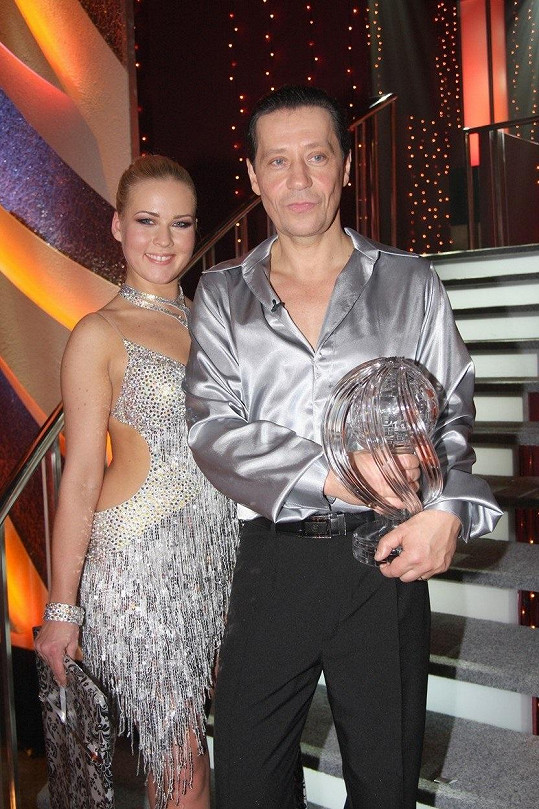 Alice Stodůlková v roce 2010 zvítězila s Pavlem Křížem.