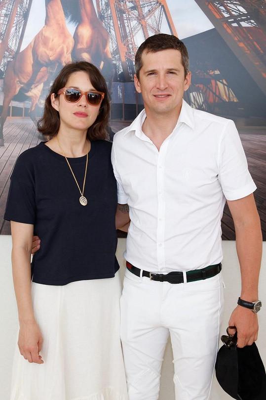 Marion Cotillard očekává s partnerem Guillaumem Canetem druhé dítě.
