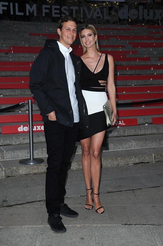 Ivanka s manželem na filmovém festivalu