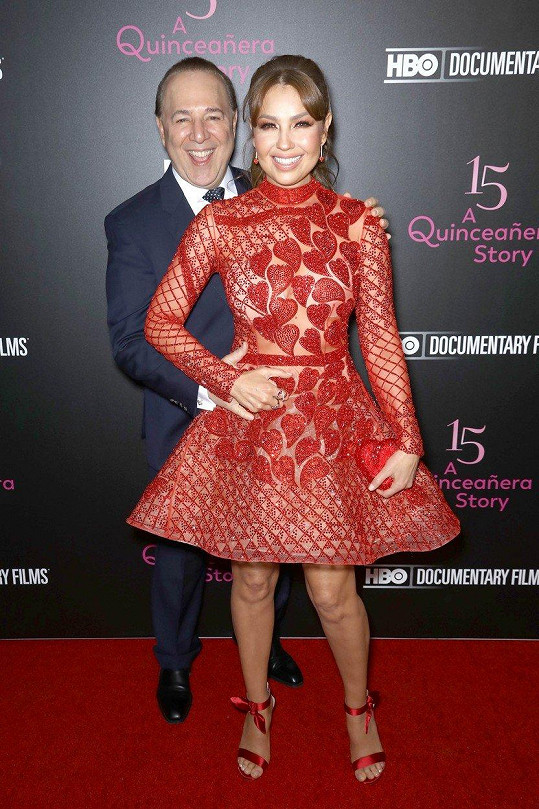Thalia s manželem Tommym Mottolou