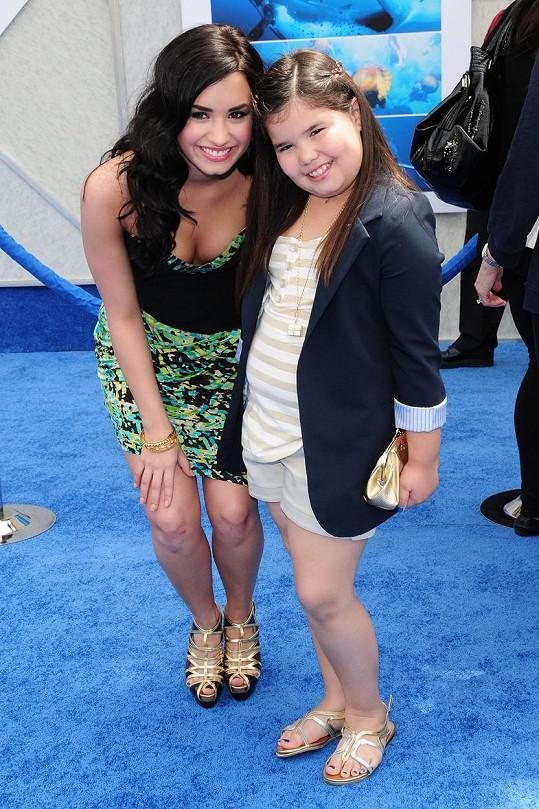 Být sestrou Demi Lovato pro ni nikdy nebylo jednoduché.