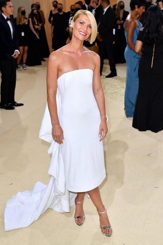 Šaty značky Prabal Gurung oblékla Claire Danes.