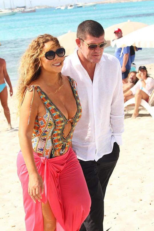 Mariah ulovila miliardáře Jamese Packera.