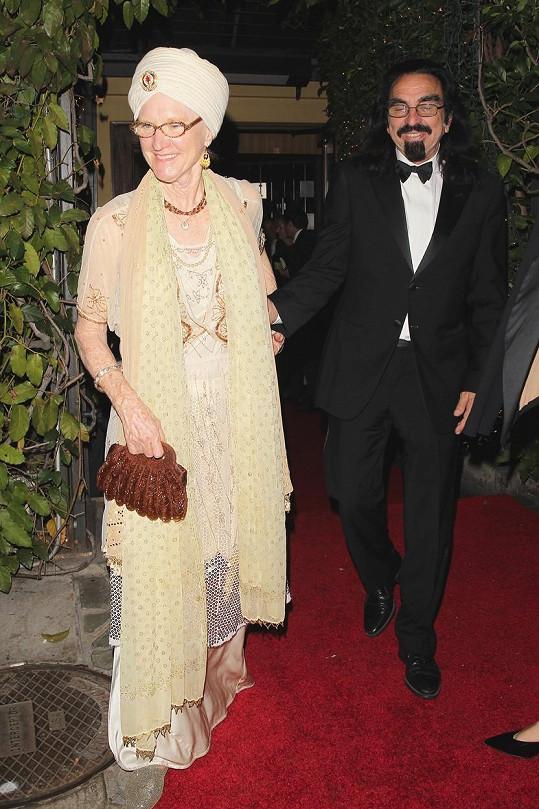 Hercův otec George s manželkou Peggy Ann Farrar