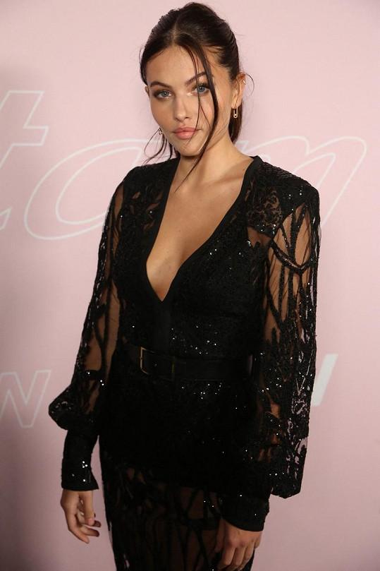 Thylane Blondeau na pařížském týdnu módy