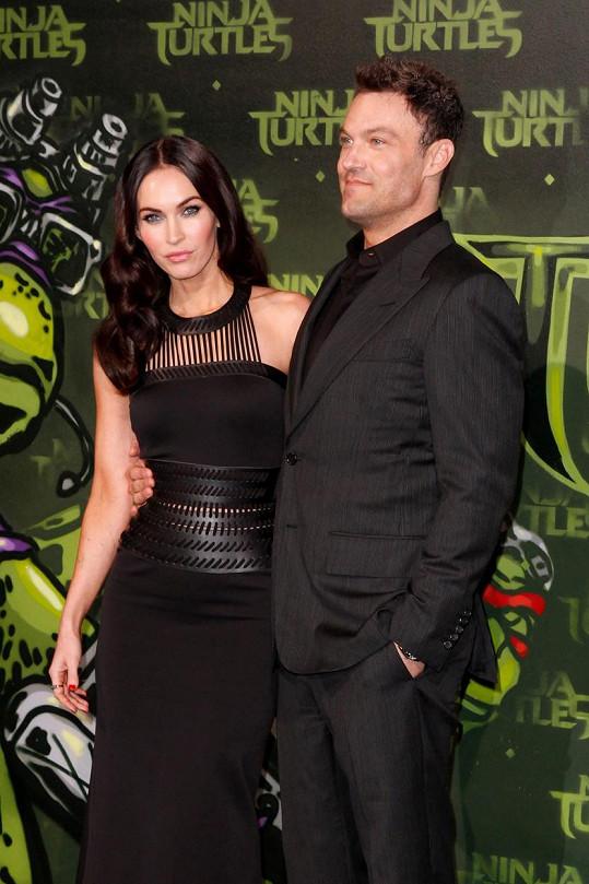 Megan Fox s manželem Brianem Austinem Greenem