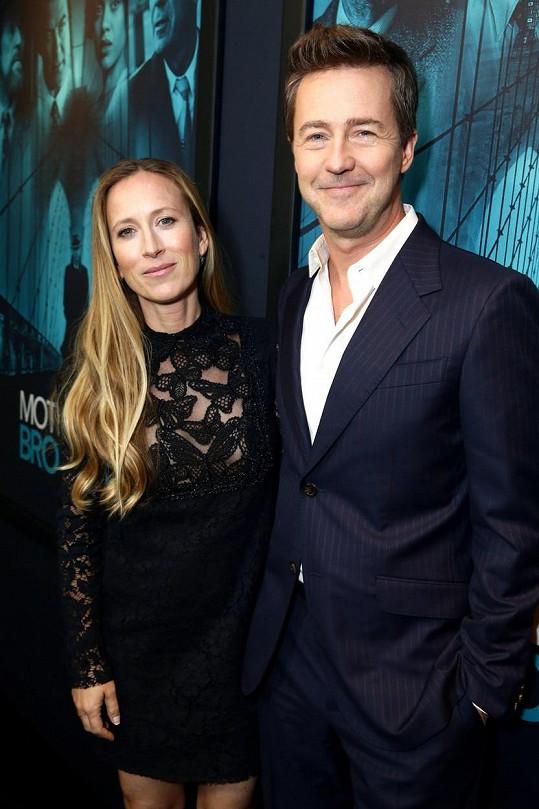 Na losangeleskou premiéru ho doprovodila producentka Shauna Robertson, kterou si vzal za ženu v roce 2012.