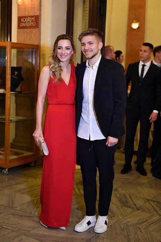 Martin Frýdek s manželkou Kateřinou