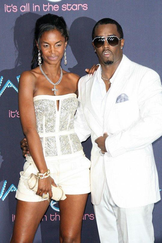Kim Porter a její bývalý partner P. Diddy