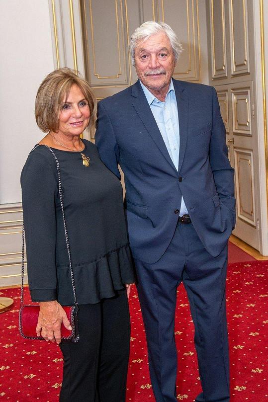 Juraj Kukura s manželkou Taťánou