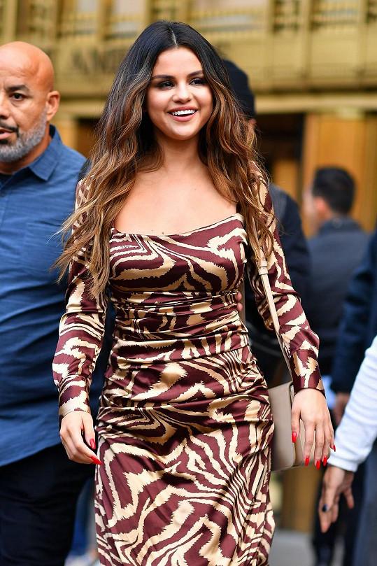 Selena Gomez má po nemoci ledvin mimo jiné problémy s váhou.
