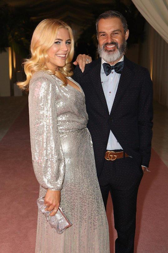 Busy s manželem Marcem Silversteinem