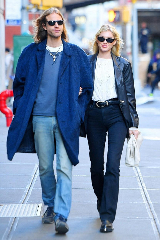 Elsa Hosk už pět let randí s podnikatelem Tomem Dalym.