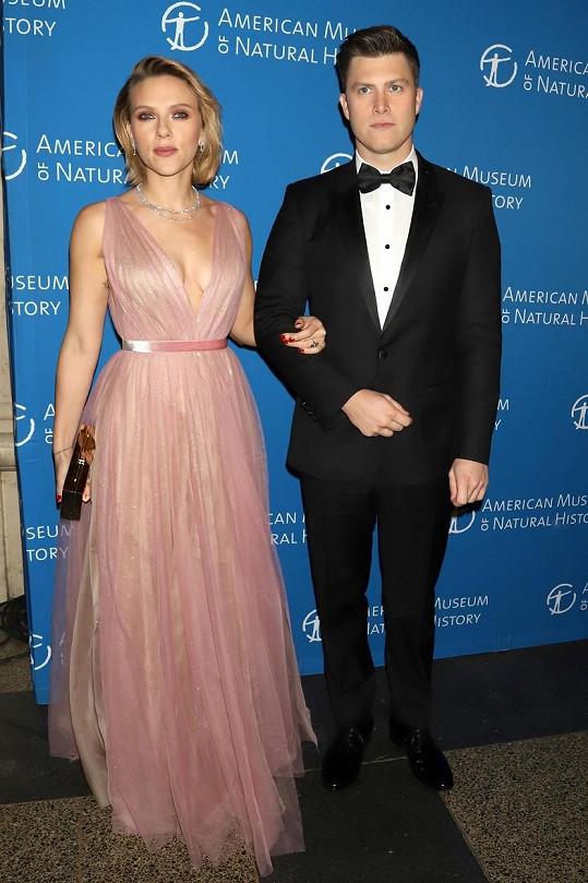 Scarlett Johansson se o víkendu potřetí vdala.