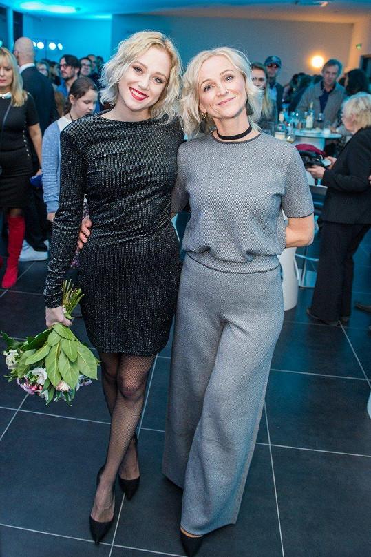 Emma Drobná s maminkou