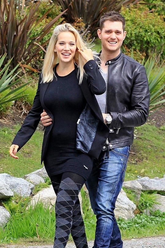 Michael Bublé a Luisana Lopilato