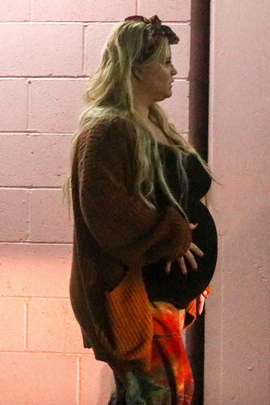 Třetí těhotenství bylo pro zpěvačku velmi náročné.
