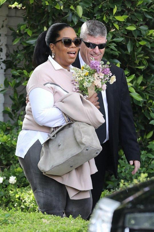 Na akci dorazila i Oprah Winfrey.