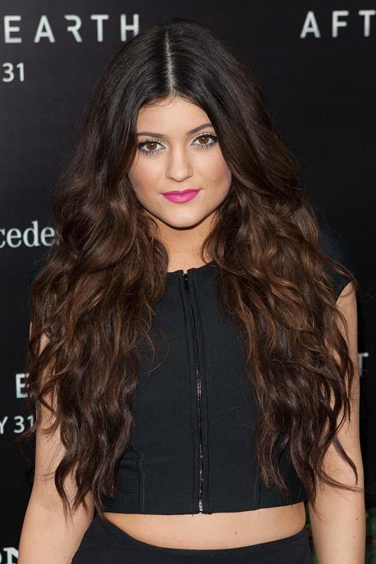 Kylie Jenner v roce 2013, to jí bylo 16 let.