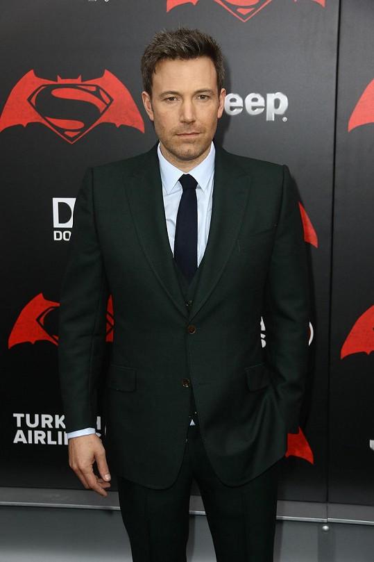 Bena Afflecka čeká několik dalších filmů v kostýmu Batmana.