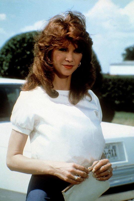 Victoria Principal se proslavila díky seriálu Dallas, kde ztvárnila Pamelu Ewingovou.