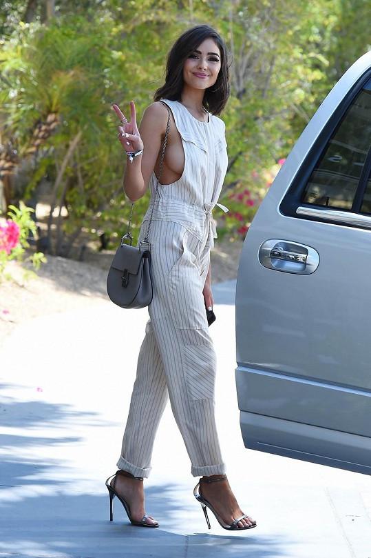 Olivia Culpo minulý víkend na Coachelle
