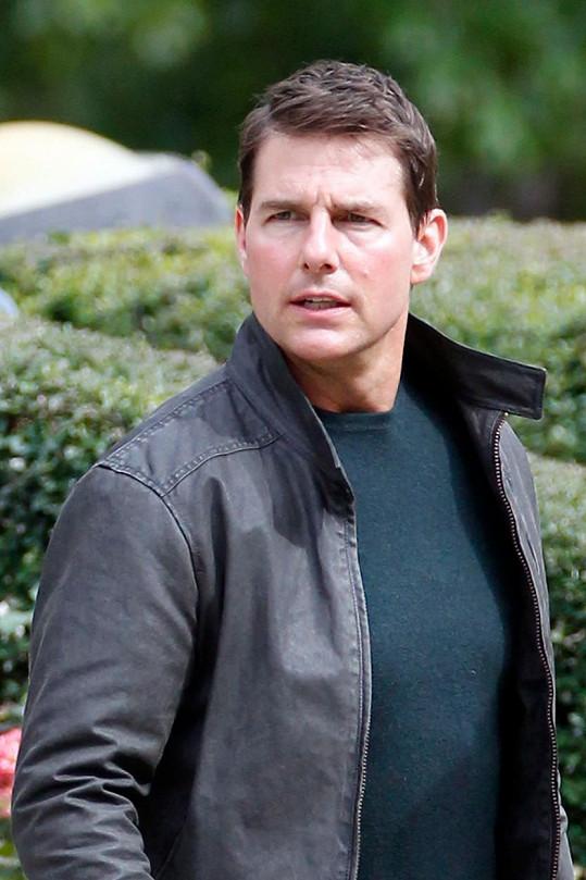 Tom Cruise v současné době natáčí film Jack Reacher: Never Go Back.
