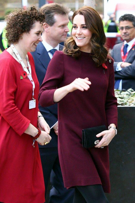 Vévodkyně navštívila konferenci o vzdělávání.
