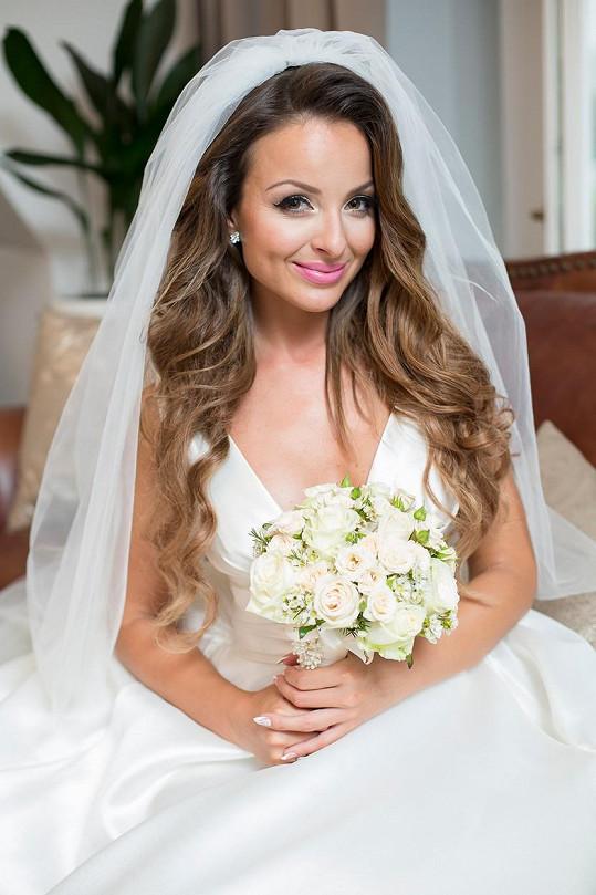 Z Veroniky Nízlové je od včerejška vdaná paní.
