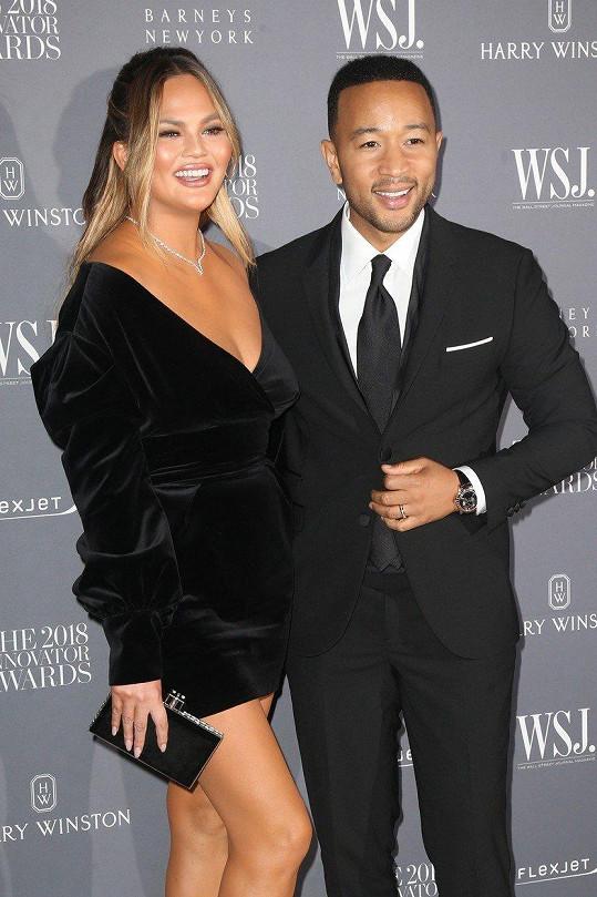 Chrissy s manželem Johnem Legendem