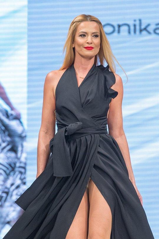 Moderátorka Marianna Ďurianová si vyzkoušela modeling.