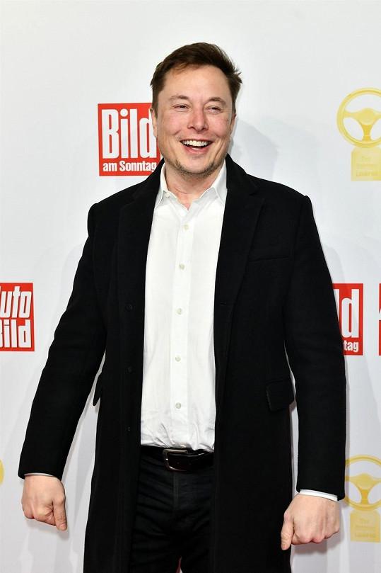 Elon Musk se pochlubil roztomilou fotkou s nejmladším synem.