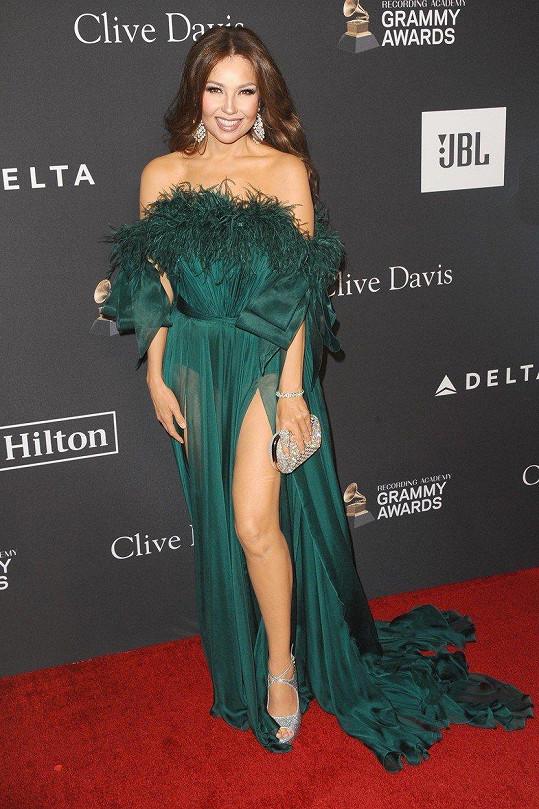 Thalía vypadá skvěle. Může za to prý kvalitní sexuální život.