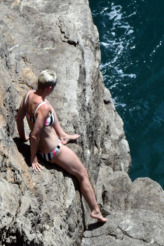 Katy Perry si právě užívá slunné Itálie.