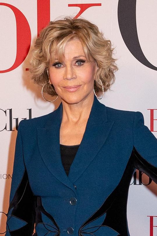 Jane vypadá stále skvěle. (foto z roku 2018)