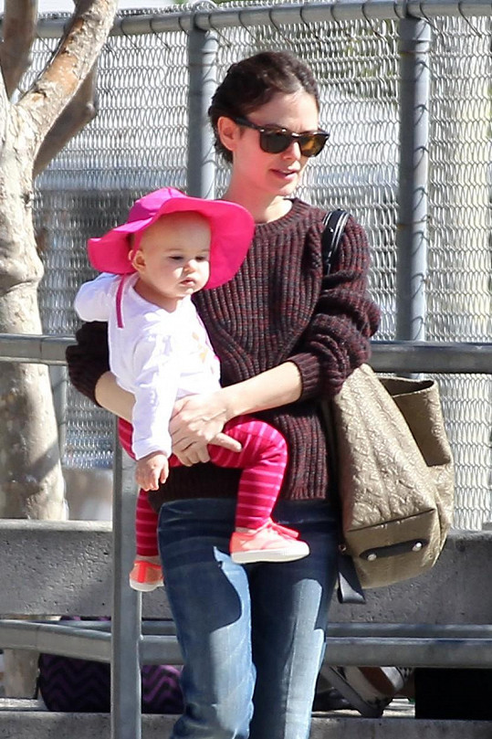 Rachel Bilson s dcerkou Briar Rose