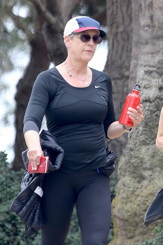Jamie Lee Curtis si potrpí na aktivní životní styl.