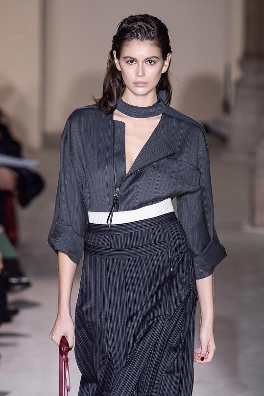 Kaia Gerber letos bodovala na řadě módních přehlídek.