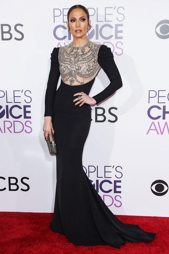 Jennifer Lopez na People´s Choice Awards