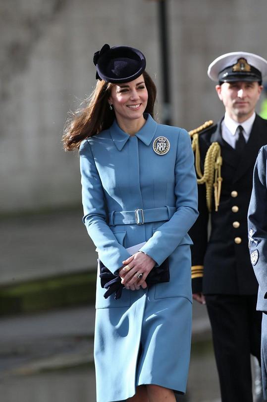 Kate se stala patronkou sboru kadetů Královského letectva.