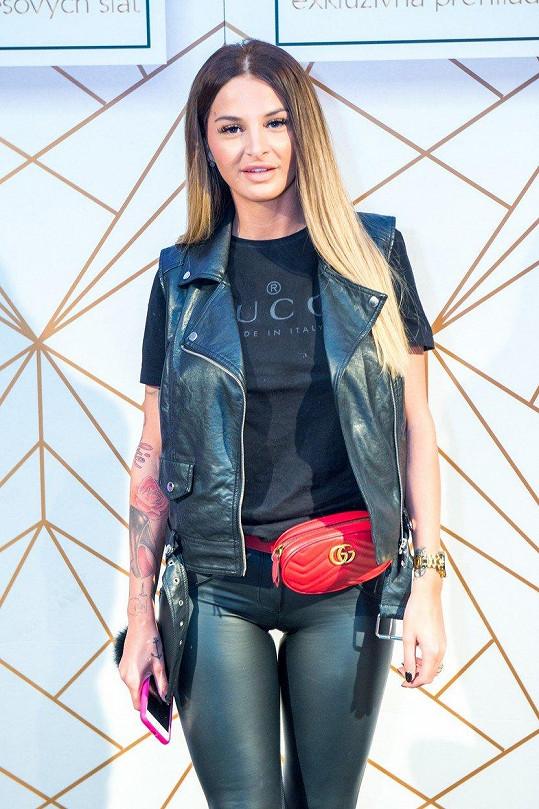 Zuzana Plačková tentokrát vsadila na luxus.