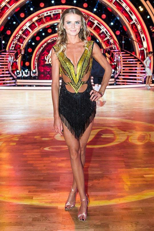 Daniela Hantuchová je hvězdou Let´s Dance.